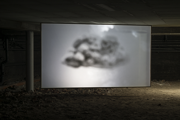 MICHELANGELOS SKY, 2014 Video-Installation