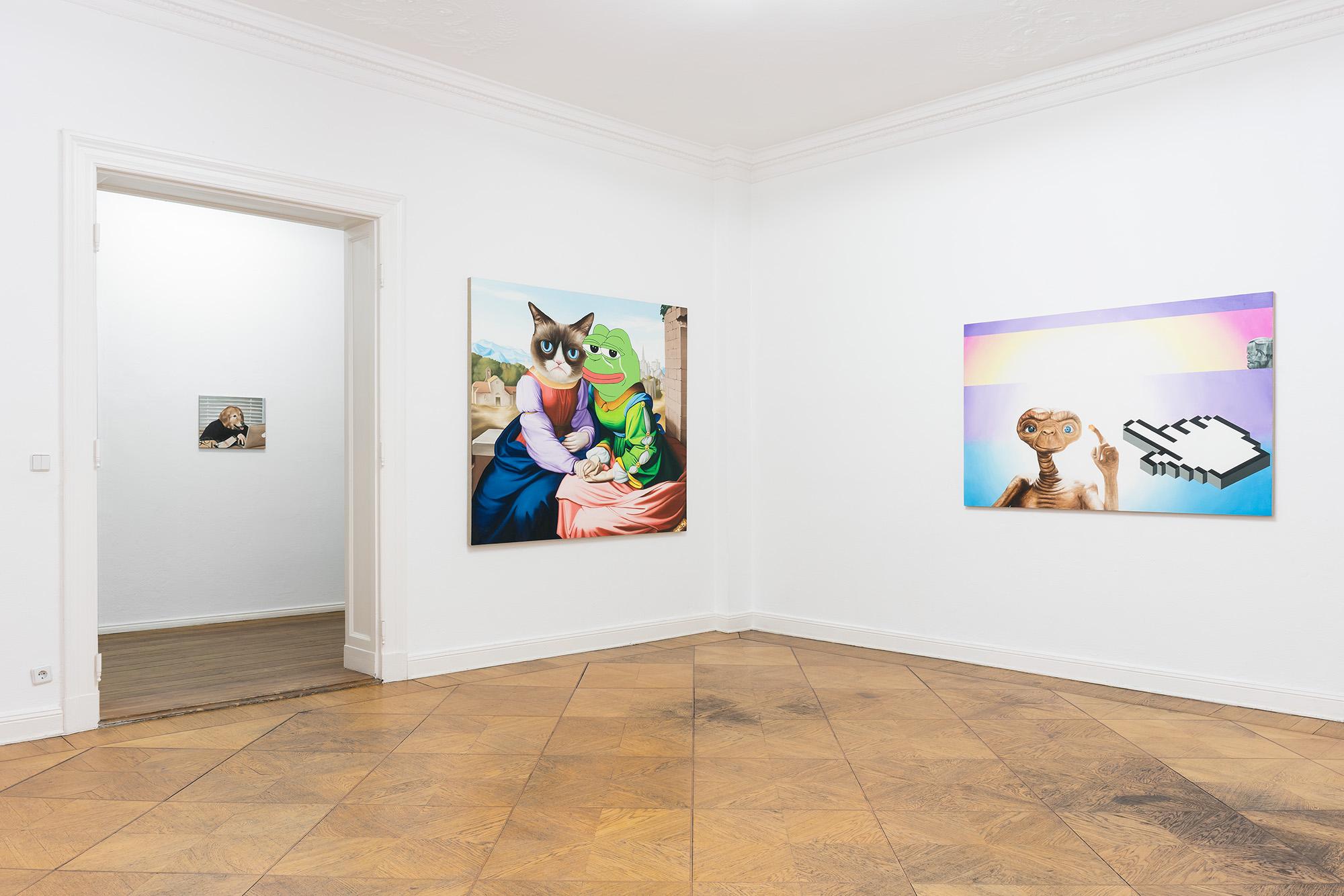Götz Schramm, copy and paste, Photo: Sascha Herrmann