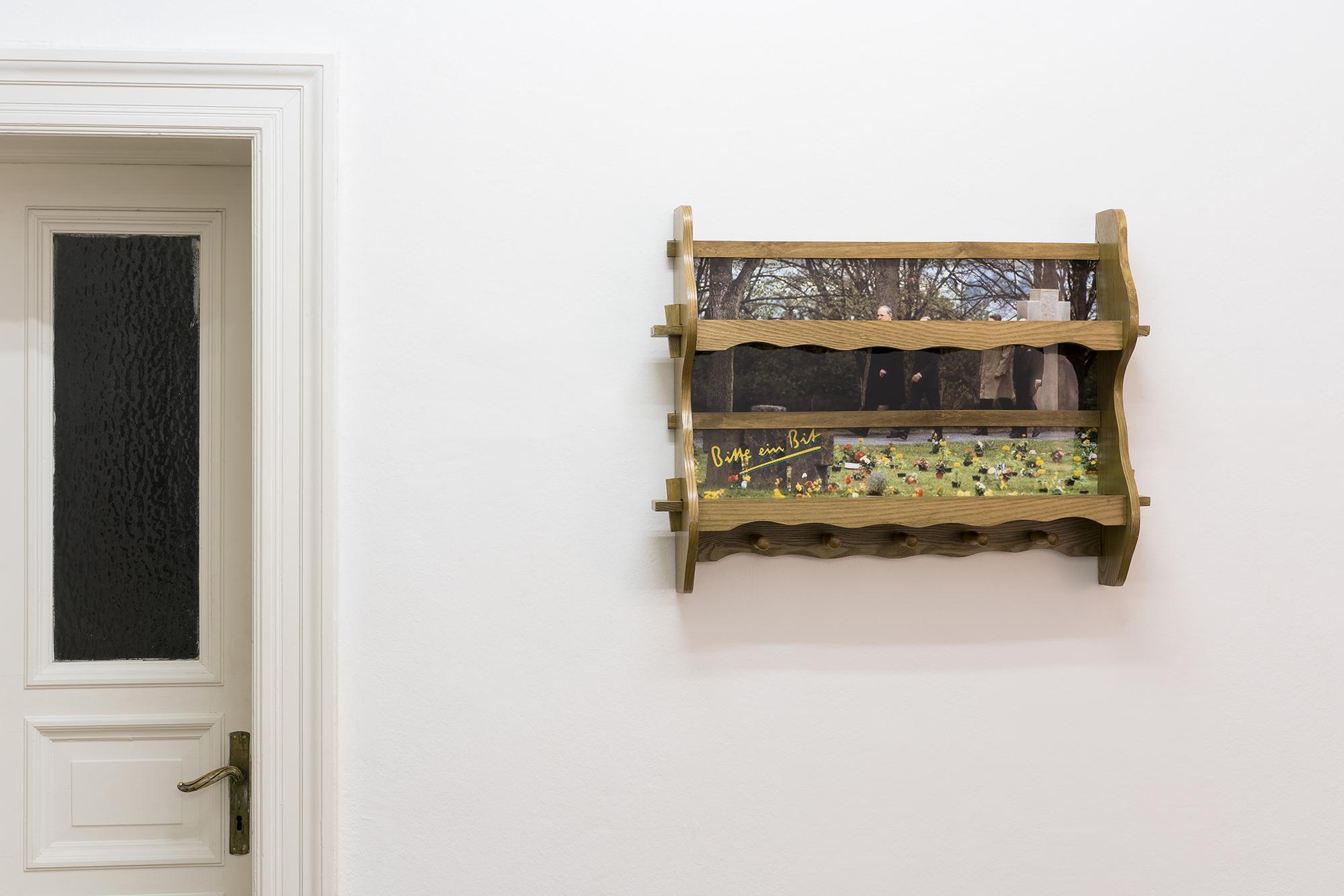 Installationshot Nicholas Warburg BRDigung Photo: Sascha Herrmann