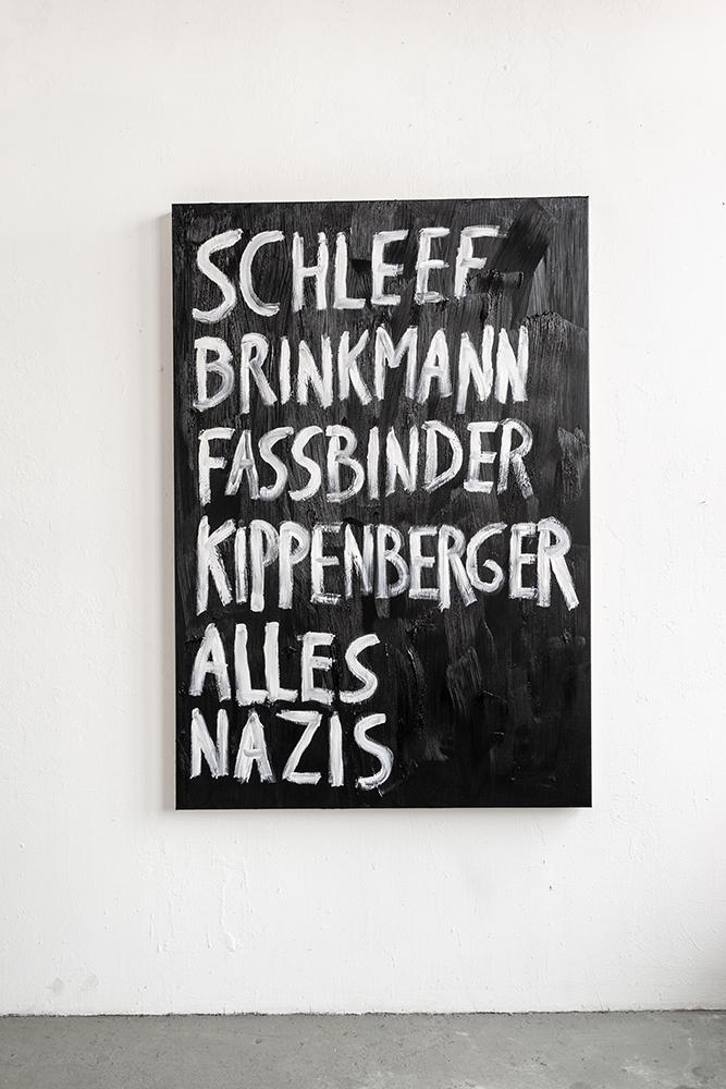 Nicholas Warburg Titelbild 1 2019 190 x 130 cm Öl auf Leinwand  Photo by: E. G. Powell