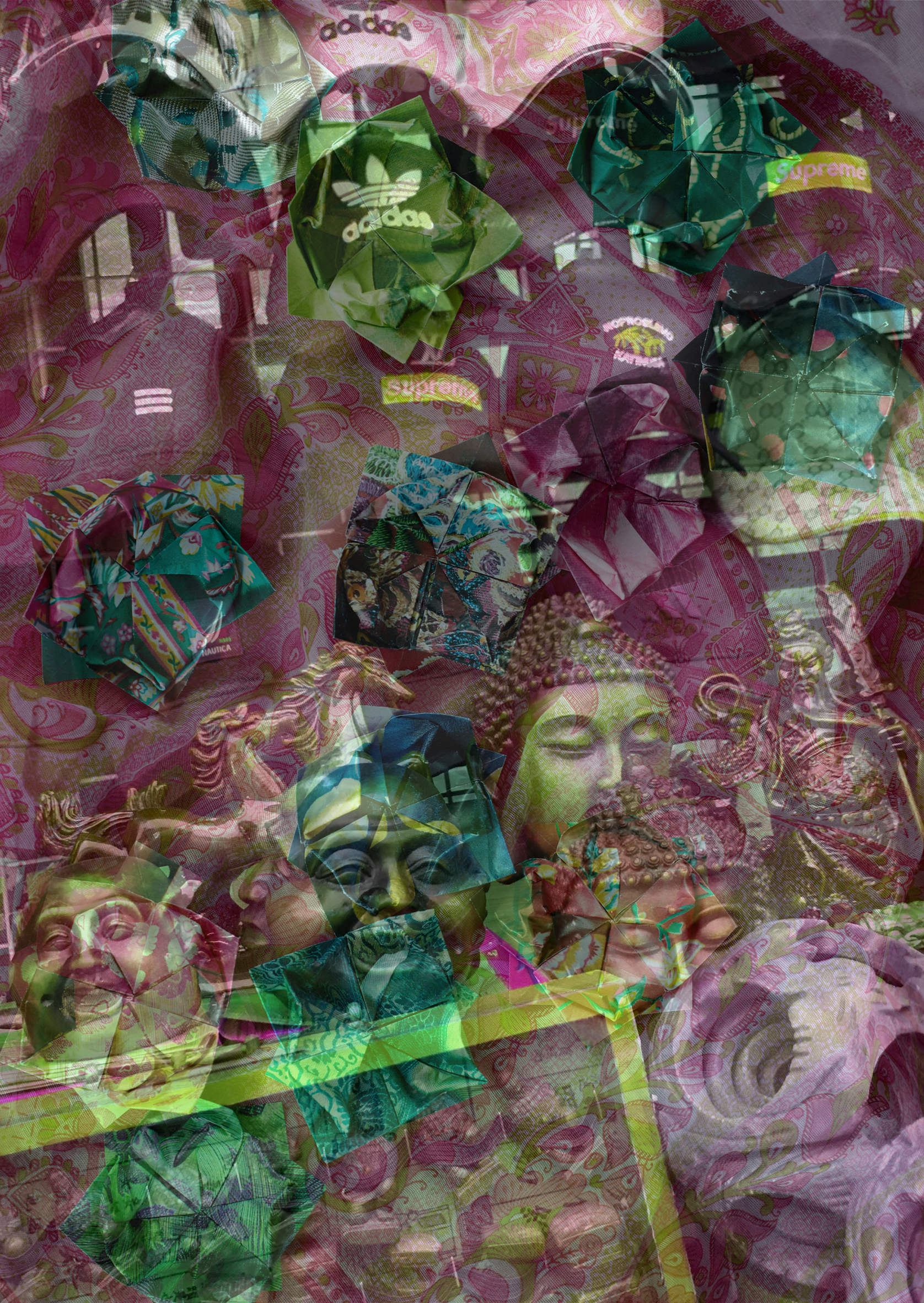 Anna Ehrenstein  ALIL 09 2019 Lenticular print 15 x 10 cm Edition of 3