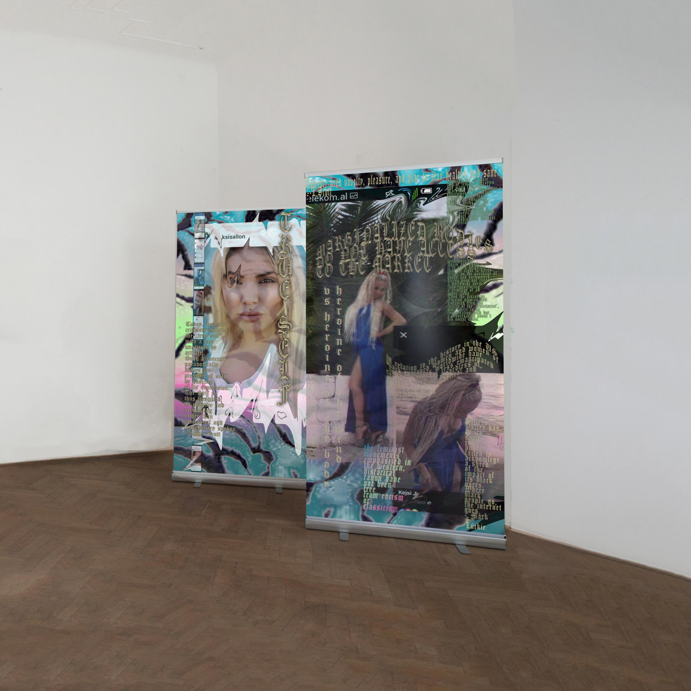 Anna Ehrenstein, True Self, 2018  (Installation Veiw Galeria Sira, Zagreb)