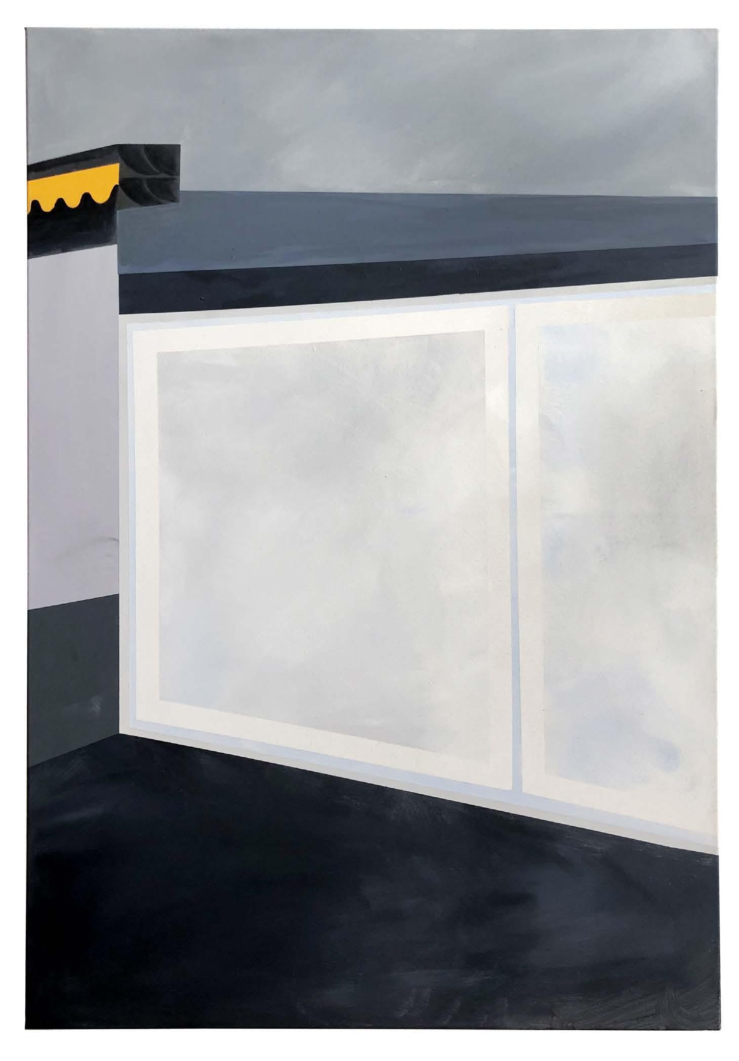 Anna Ley Gleisdreieck 2018 130 x 90 cm Acrylic on canvas