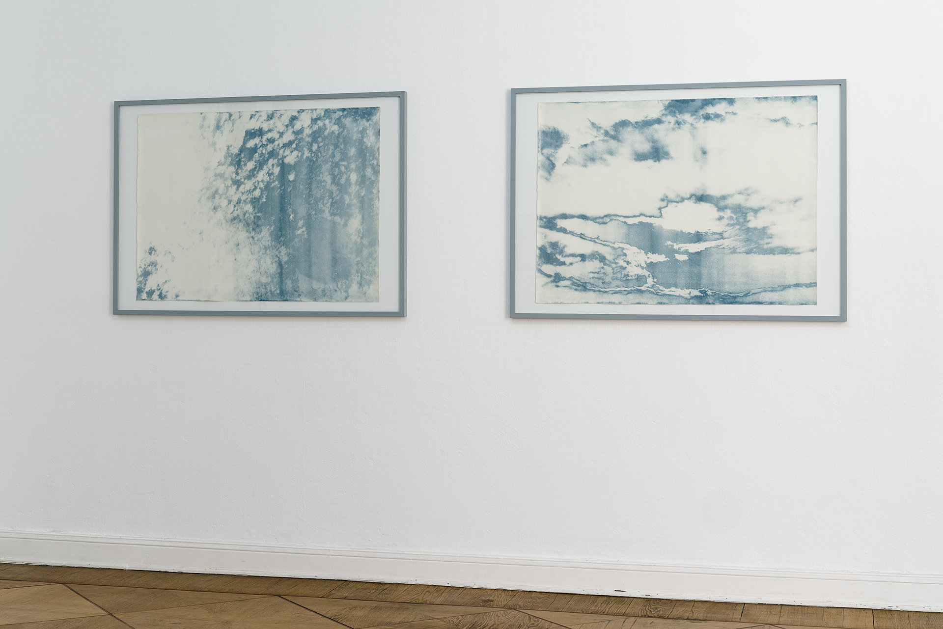 SOLARIZED CYANOTYPES, 2015 79 x 106 cm