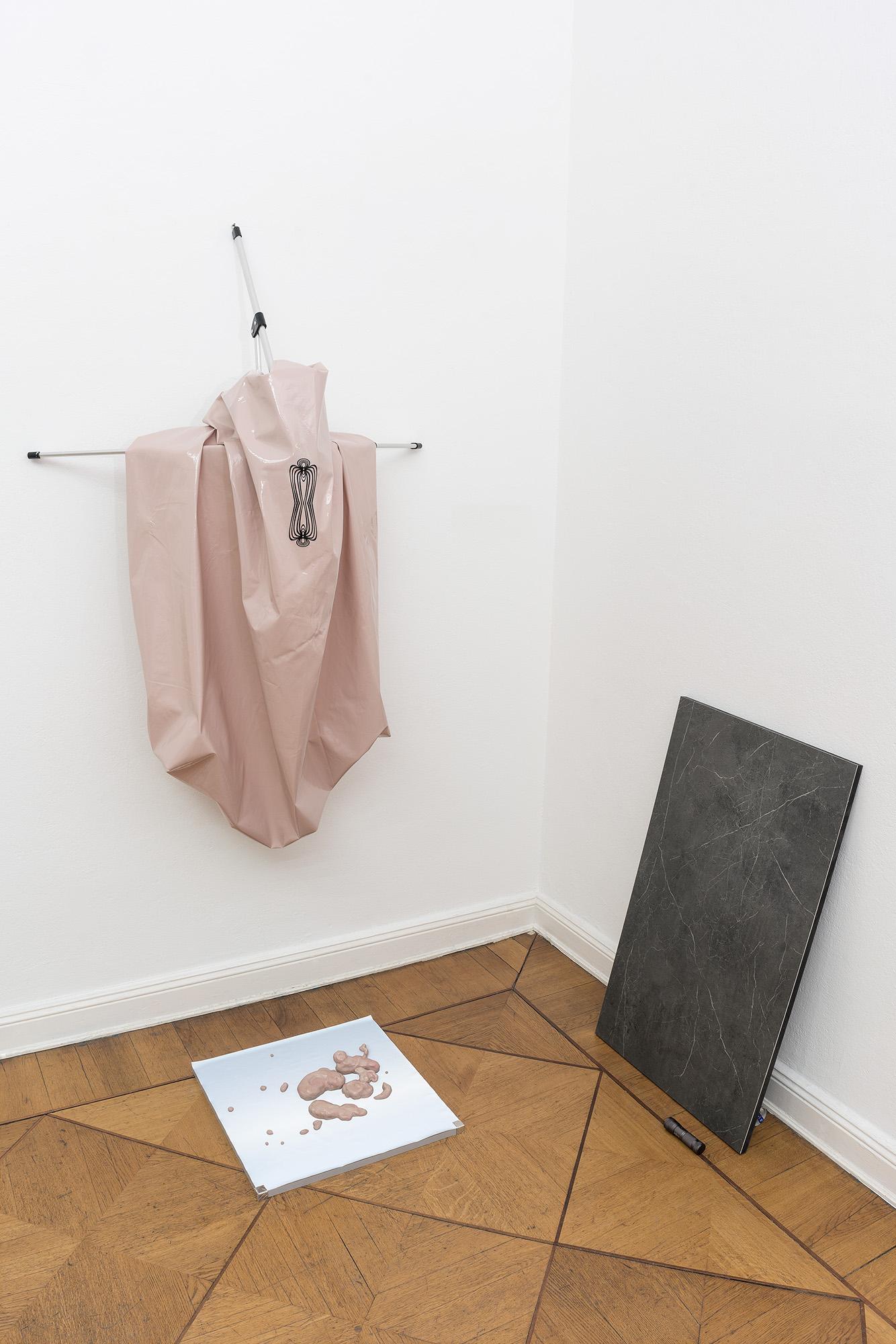 Exhibition view ADLER EHRENSTEIN LEY, Galerie Anton Janizewski, Photo: Sascha Herrmann