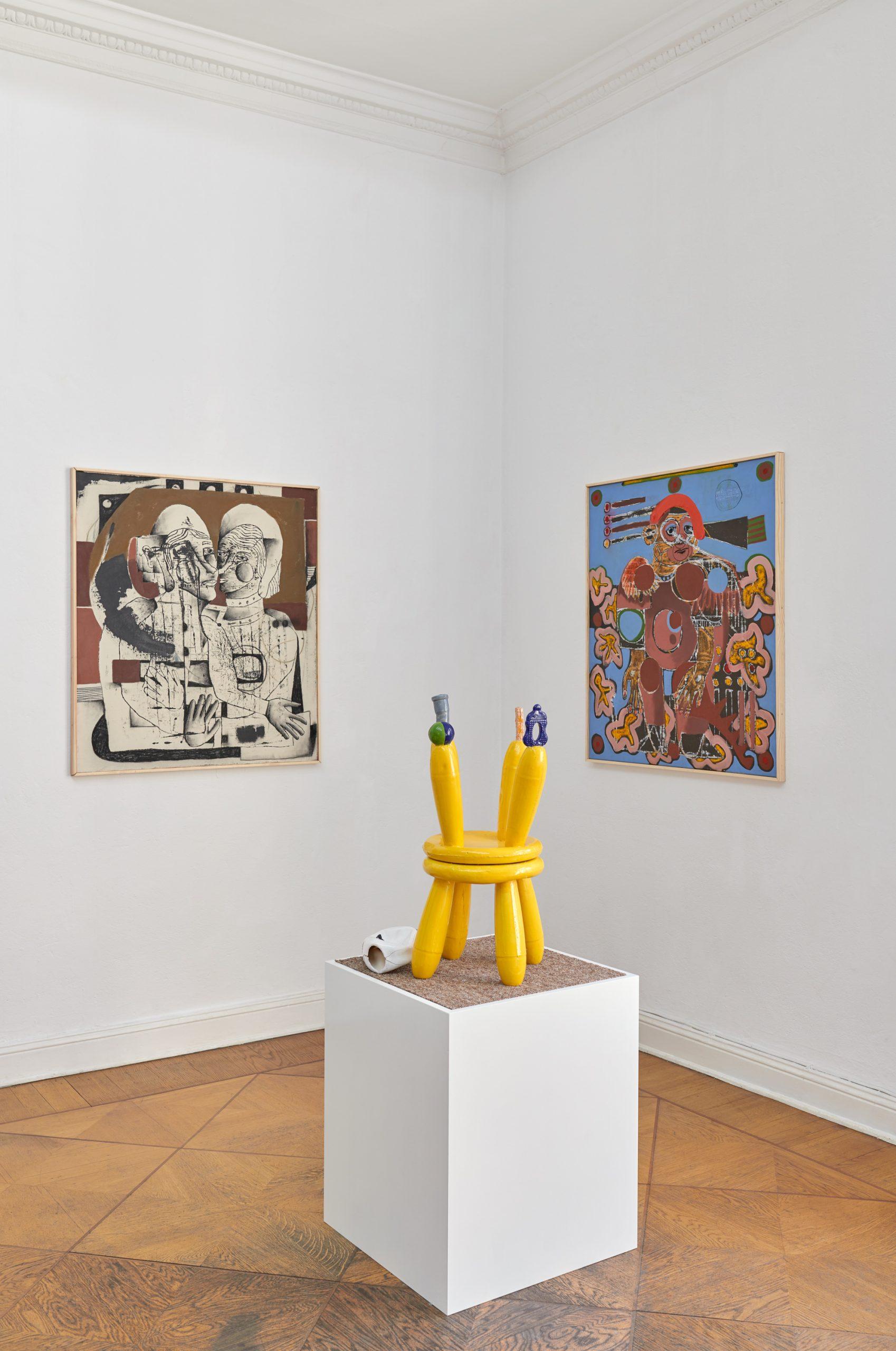 Ausstellung Raum im Raum, Photo Sebastian Eggler